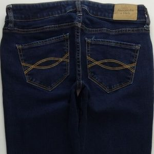 Abercrombie Fitch The A&F Skinny Jeans 0S 25 B183